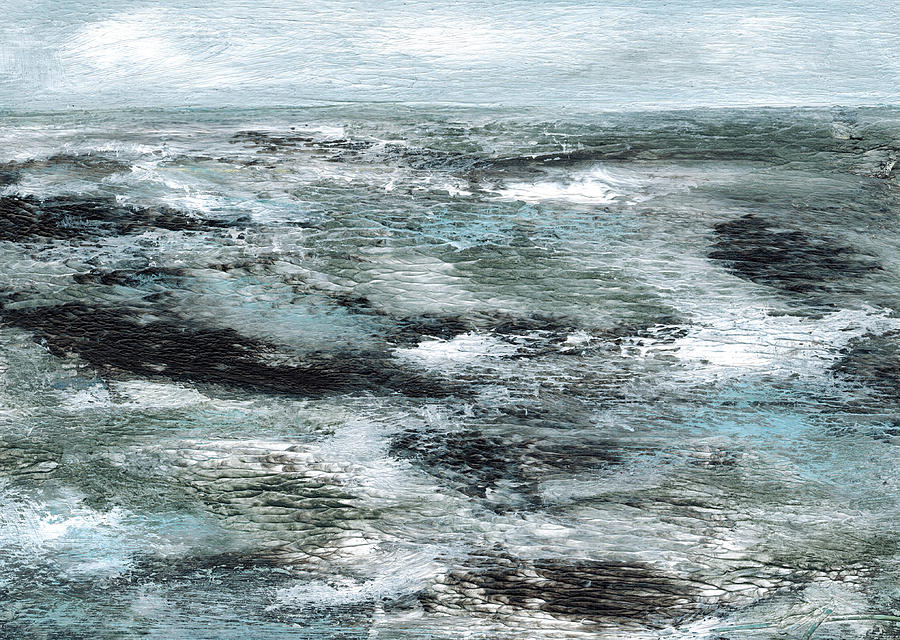 Wind In The Waves Painting