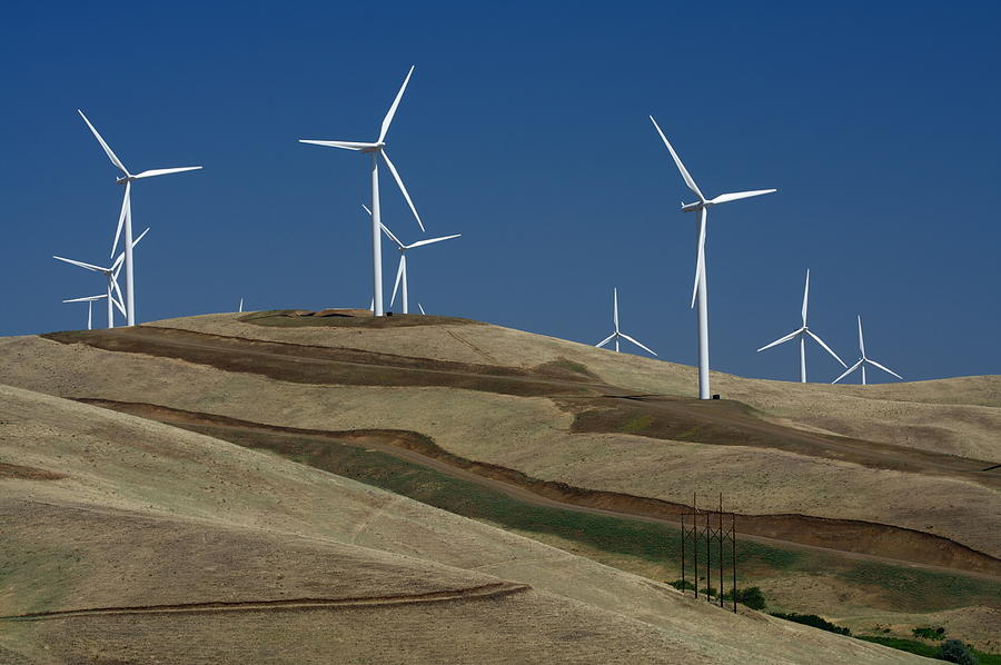 Wind Turbine Photograph - Wind Power by Todd Kreuter