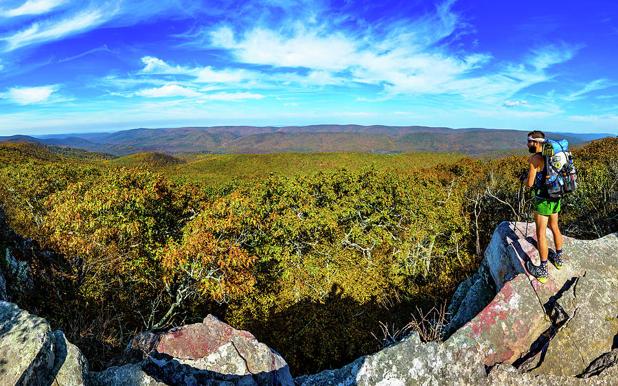 Wind Rock Panorama by Joe Shrader