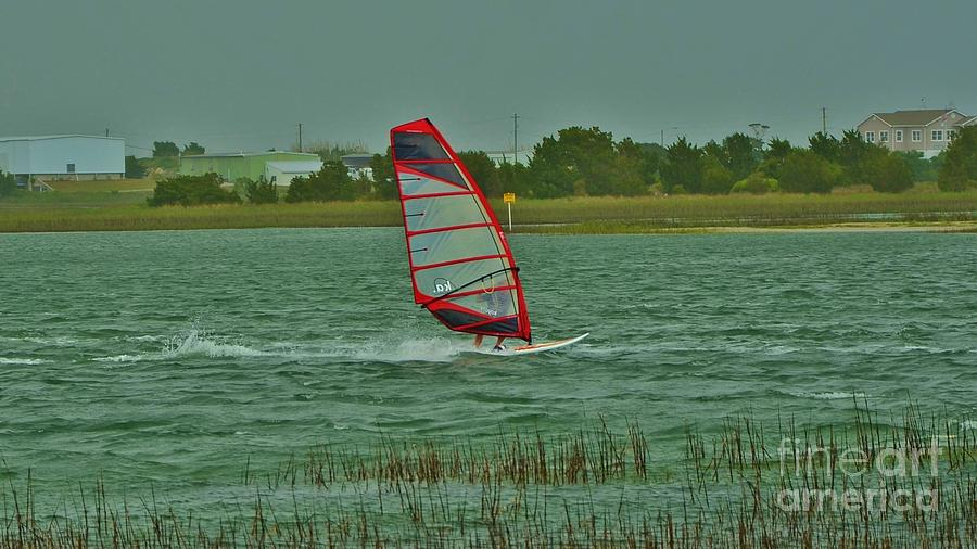 Wind Surfing 2 Photograph