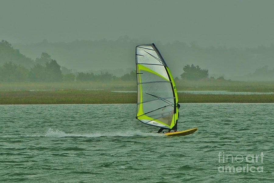 Wind Surfing 3 Photograph