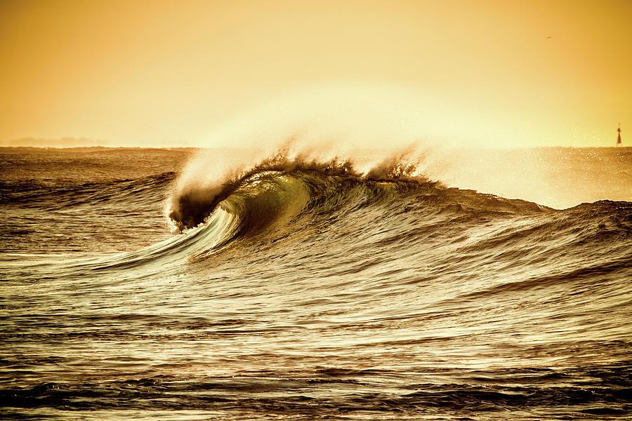 Wind Swept Wave Photograph