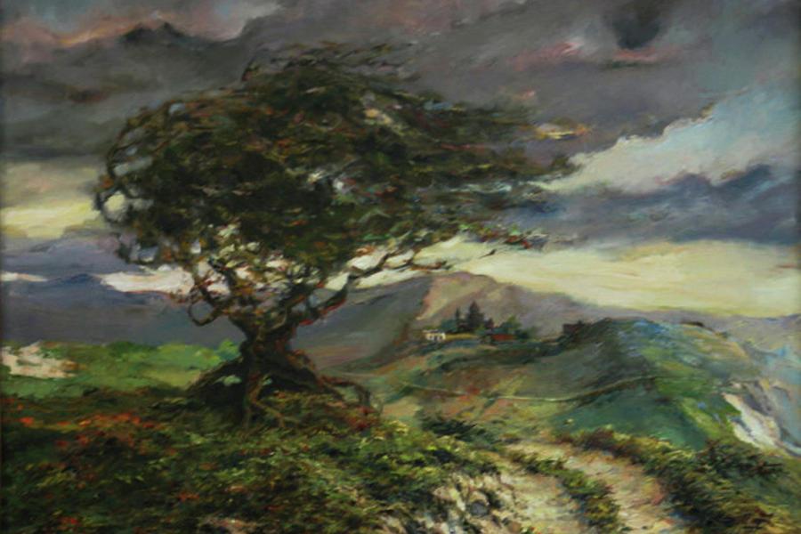 Armenian Painting - Wind by Tigran Ghulyan