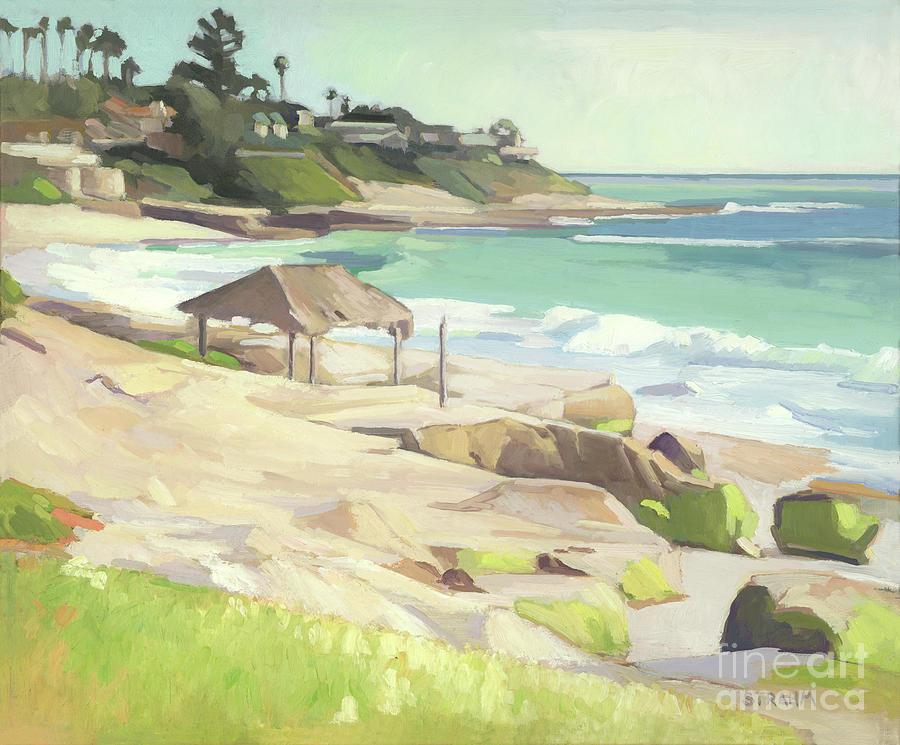 Windansea Beach La Jolla San Diego California by Paul Strahm