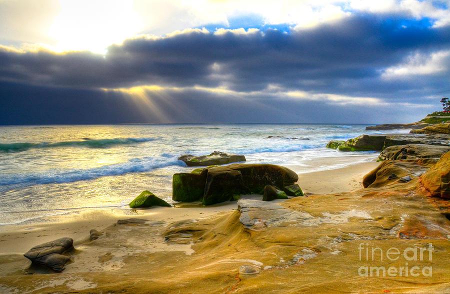 Beach Photograph - Windansea View by Kelly Wade