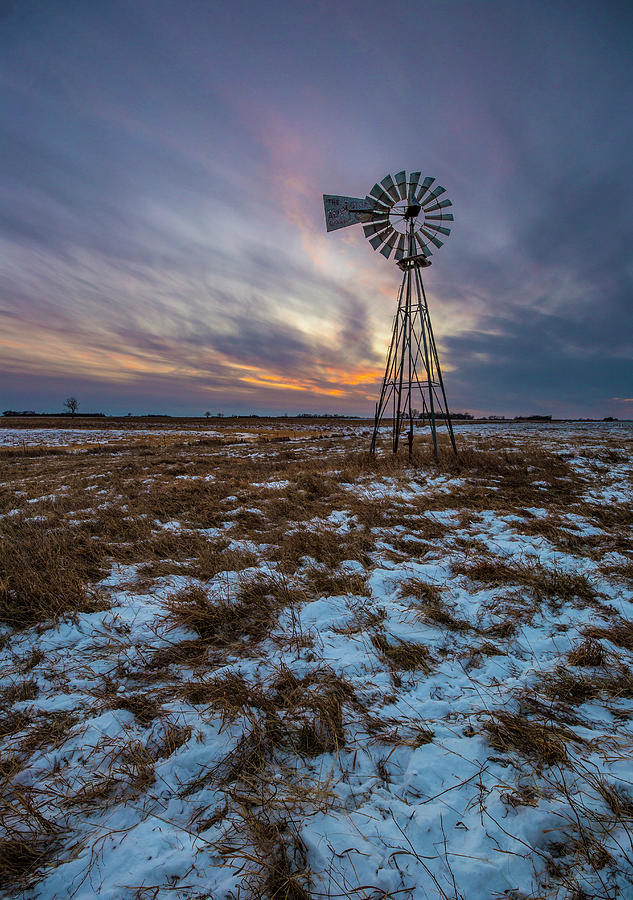 Windmill Photograph - Windchill by Aaron J Groen