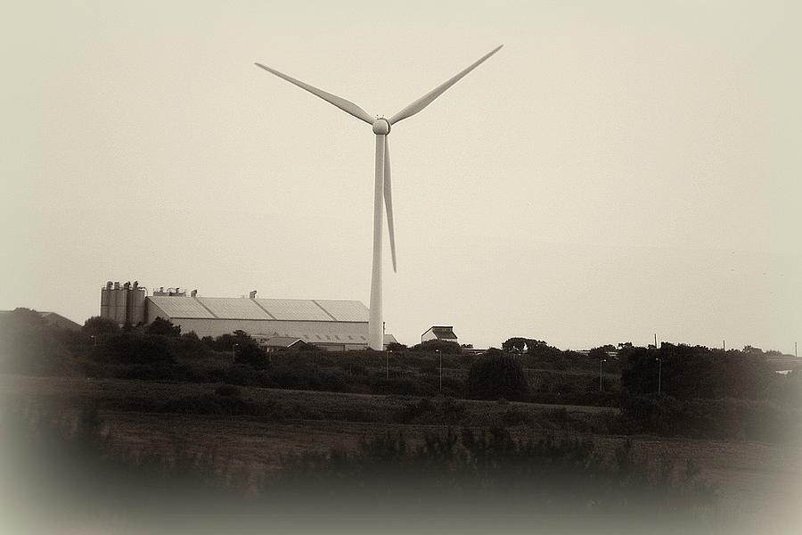 Wind Photograph - Windfarm by Frances Lewis