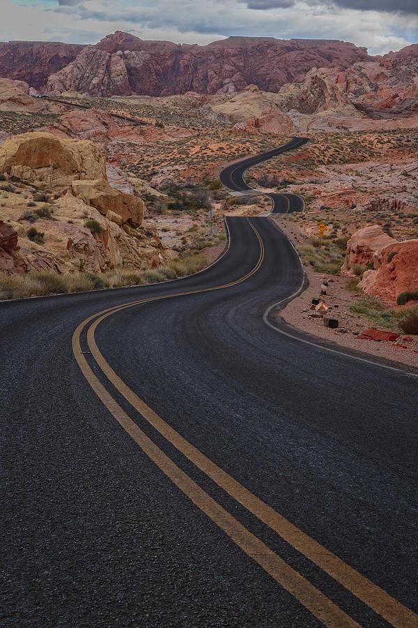 Road Photograph - Winding Road by Rick Berk