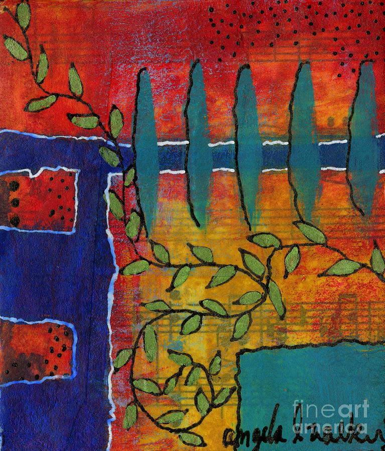 Winding Vines by Angela L Walker