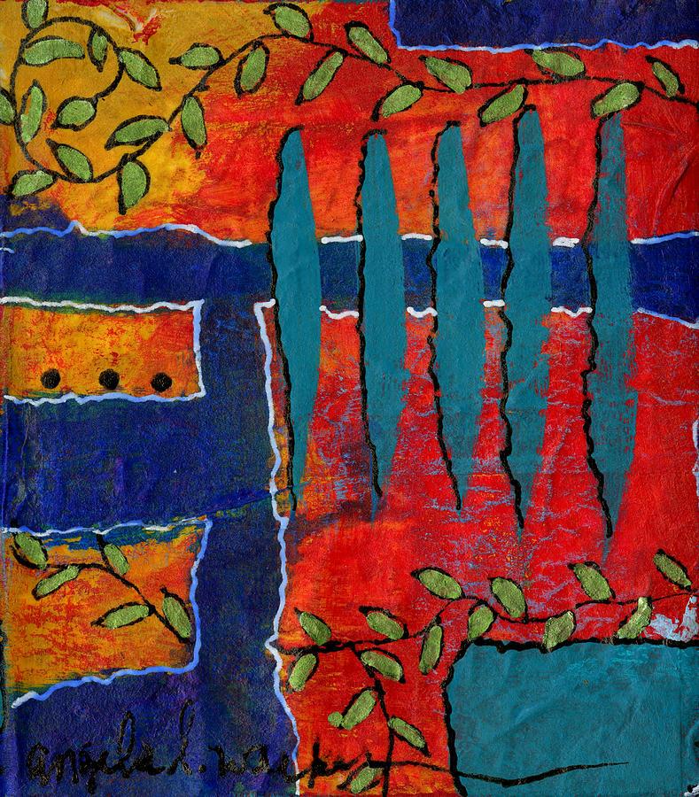 Winding Vines II by Angela L Walker