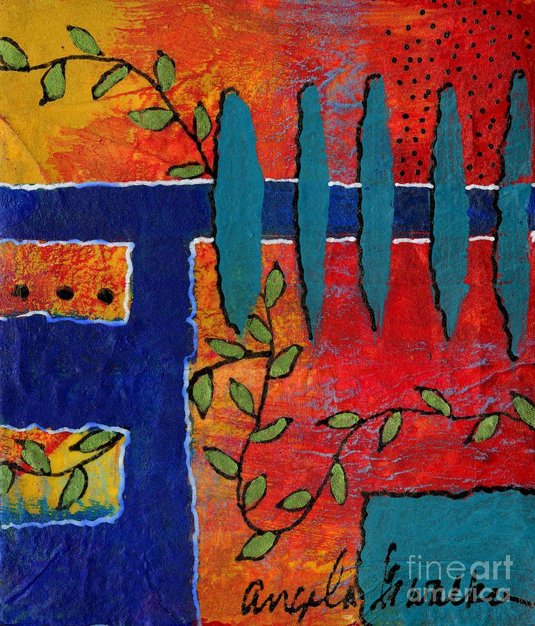 Winding Vines III by Angela L Walker