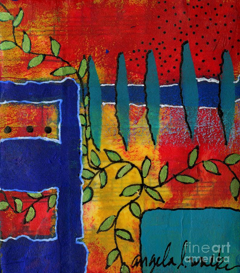 Winding Vines IV by Angela L Walker