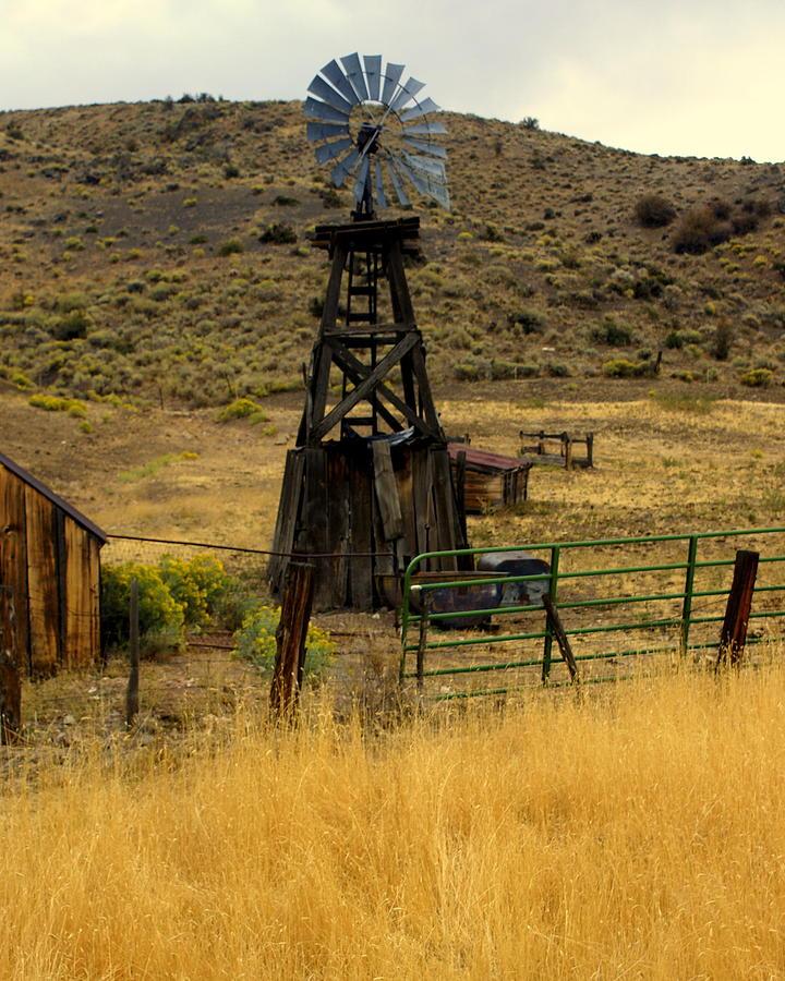 Windmill Photograph - Windmill 1 by Marty Koch