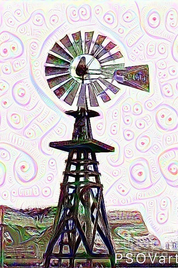 Windmill 1 by Patty Vicknair