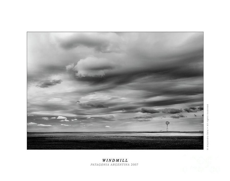 Windmill - Patagonia Argentina 2007 by Alejandro Sala