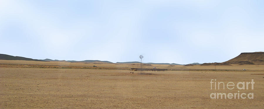 Colorado Photograph - Windmill On The Colorado Range by Charles Robinson