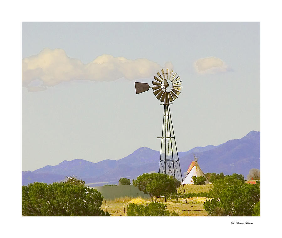Windmill Photograph by R Thomas Berner