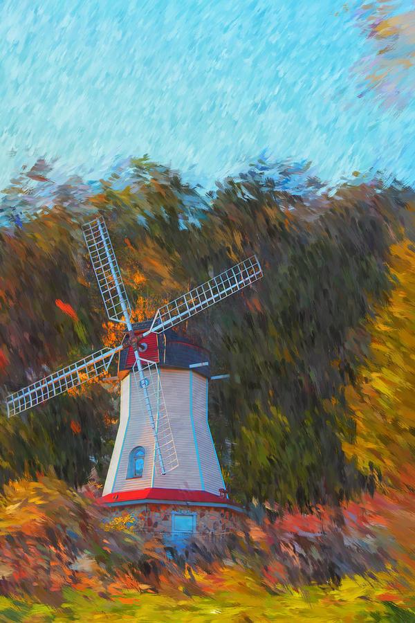 Windmill Photograph - Windmill Series 1102 by Carlos Diaz