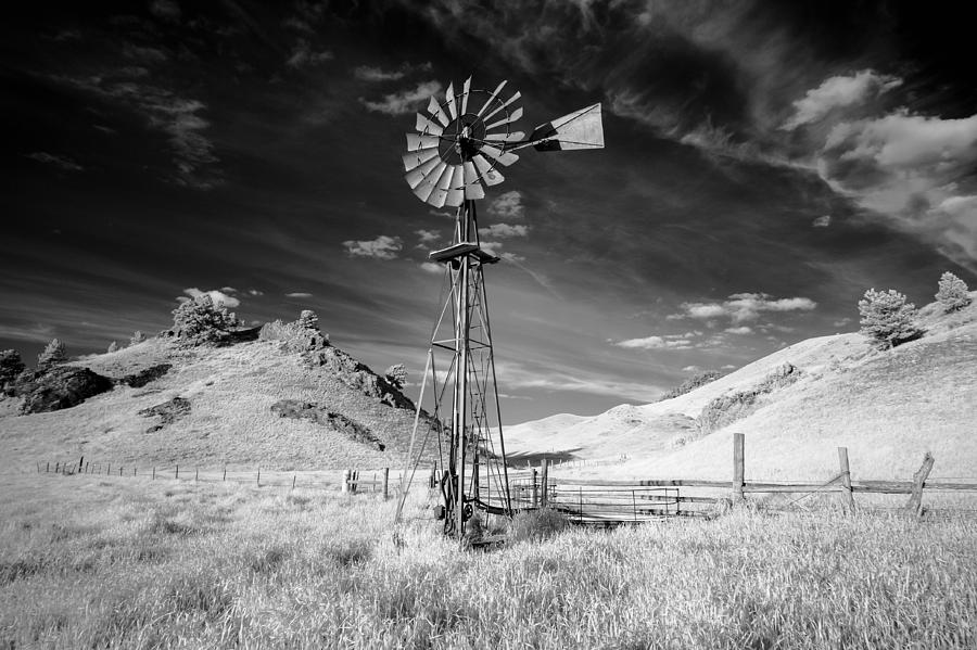 Windmill Photograph - Windmill Stained by Todd Klassy