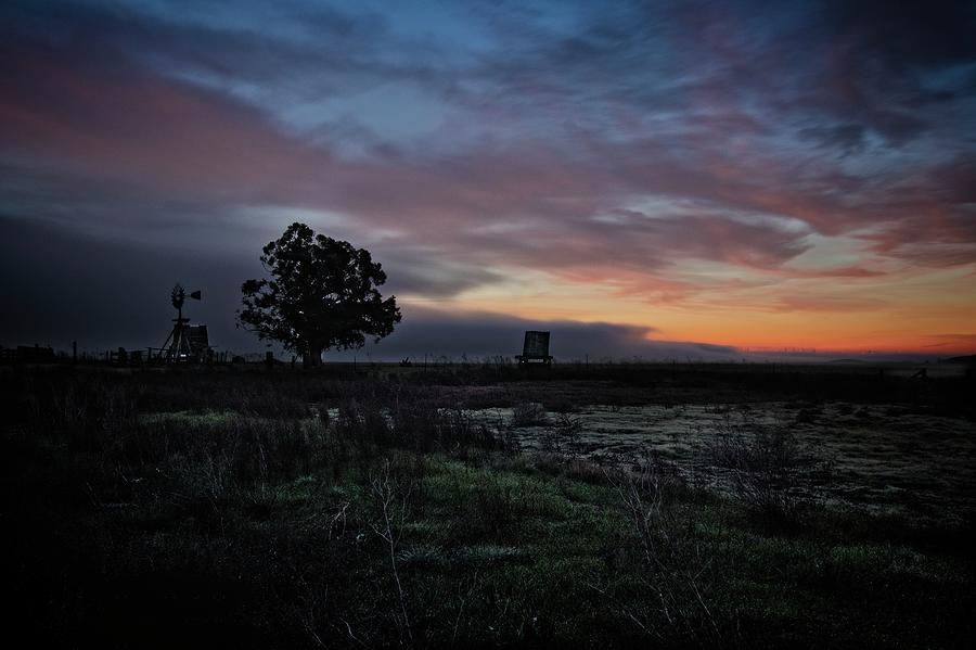 Windmill Sunrise by Bruce Bottomley