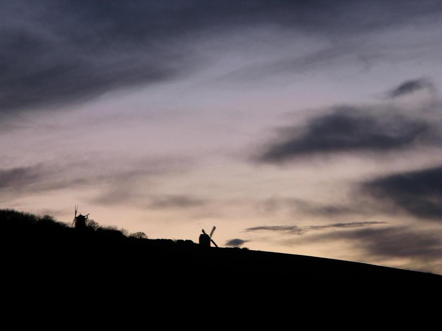 Windmills Photograph - Windmills by Maria Joy