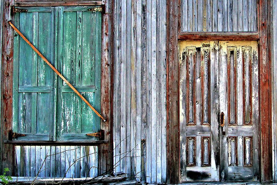 Window and Door by Nadine Lewis
