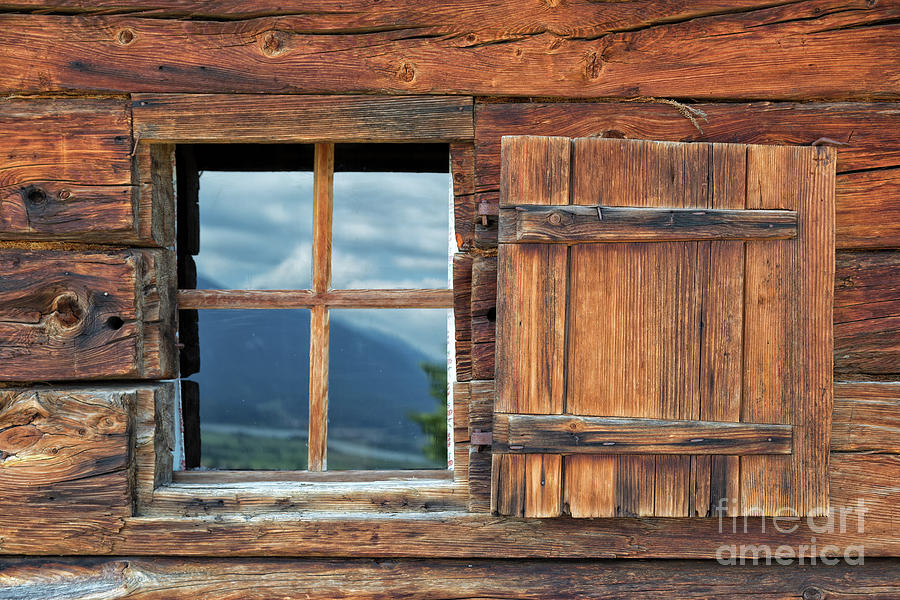 Reflection Photograph - Window And Reflection by Yair Karelic