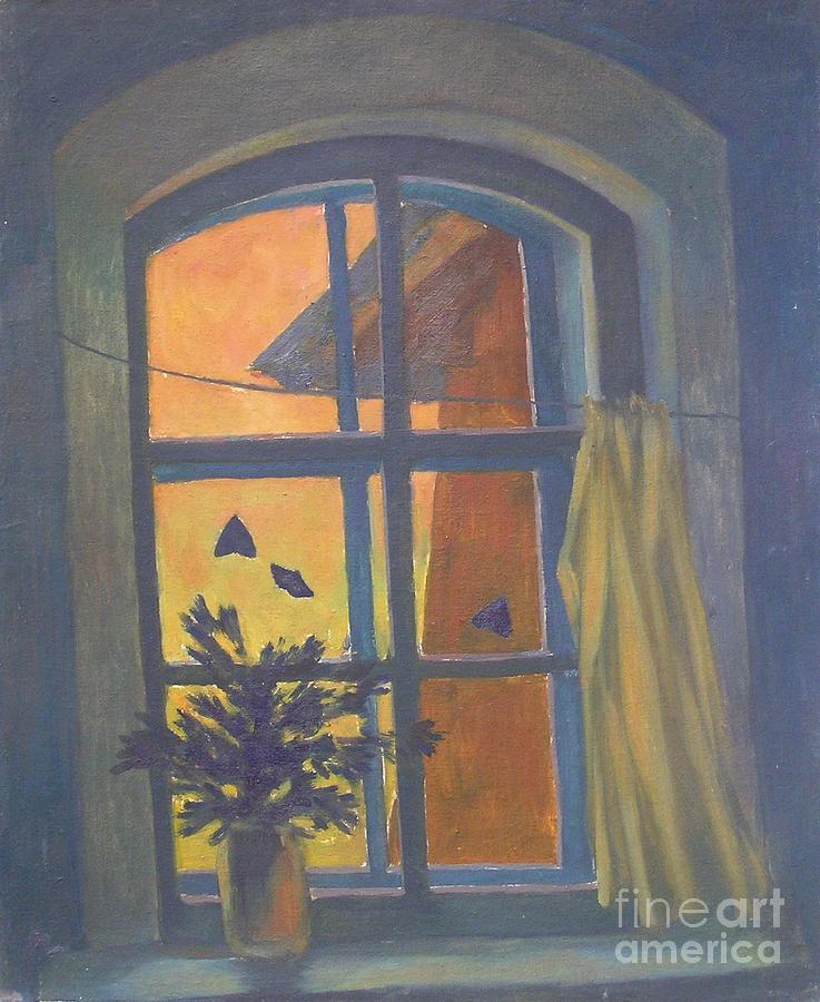 Window Painting - Window by Andrey Soldatenko