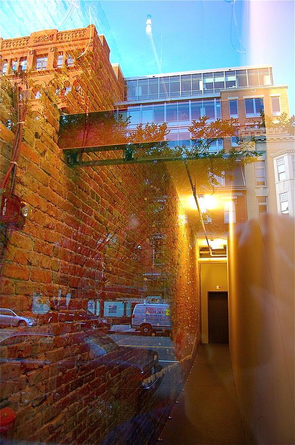 Scenic Photograph - Window Art Lll by Mark Lemon