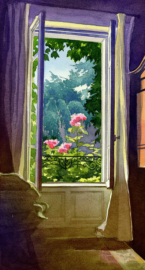 Window at Clermont by James Faecke