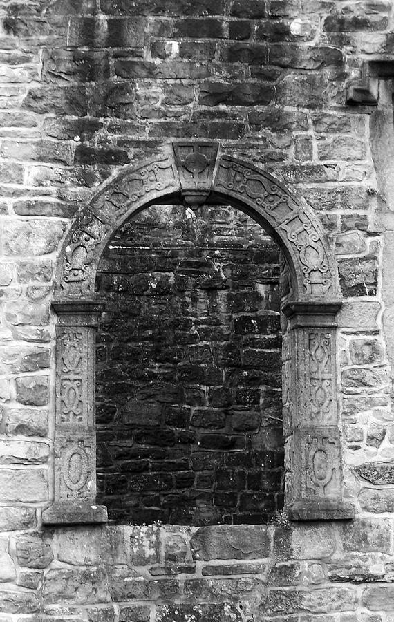 Irish Photograph - Window at Donegal Castle Ireland by Teresa Mucha