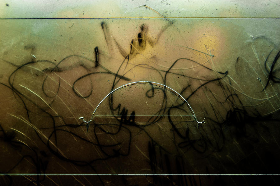Plastic Photograph - Window Drawing 07 by Grebo Gray