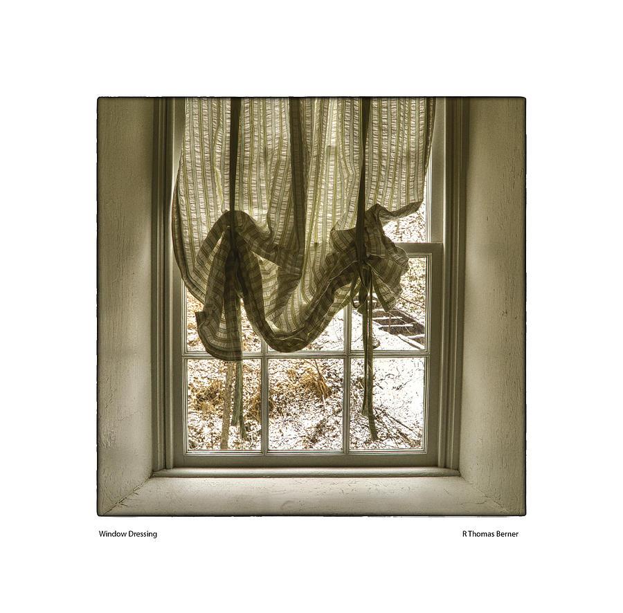 Window Dressing Photograph by R Thomas Berner
