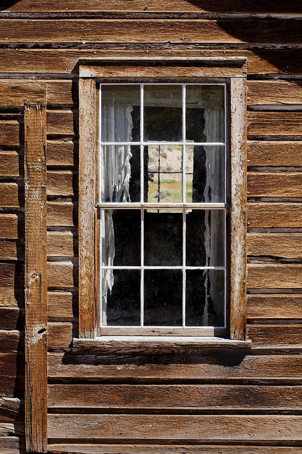 Weathered Wood Photograph - Window In A Window by Kelley King