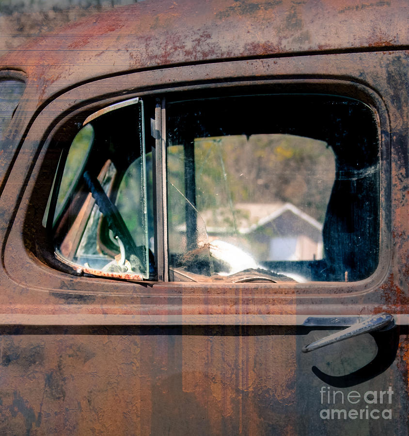 Truck Photograph - Window In Rural America  by Steven Digman