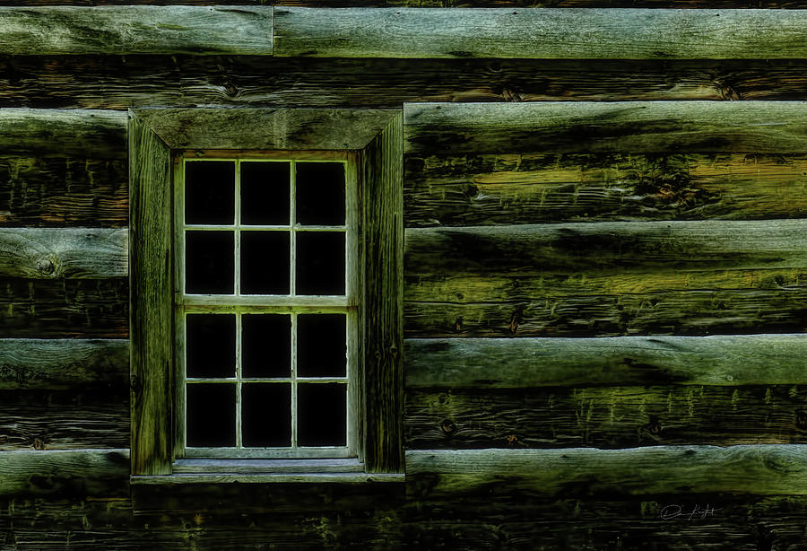 Window Photograph - Window In Time by Elijah Knight