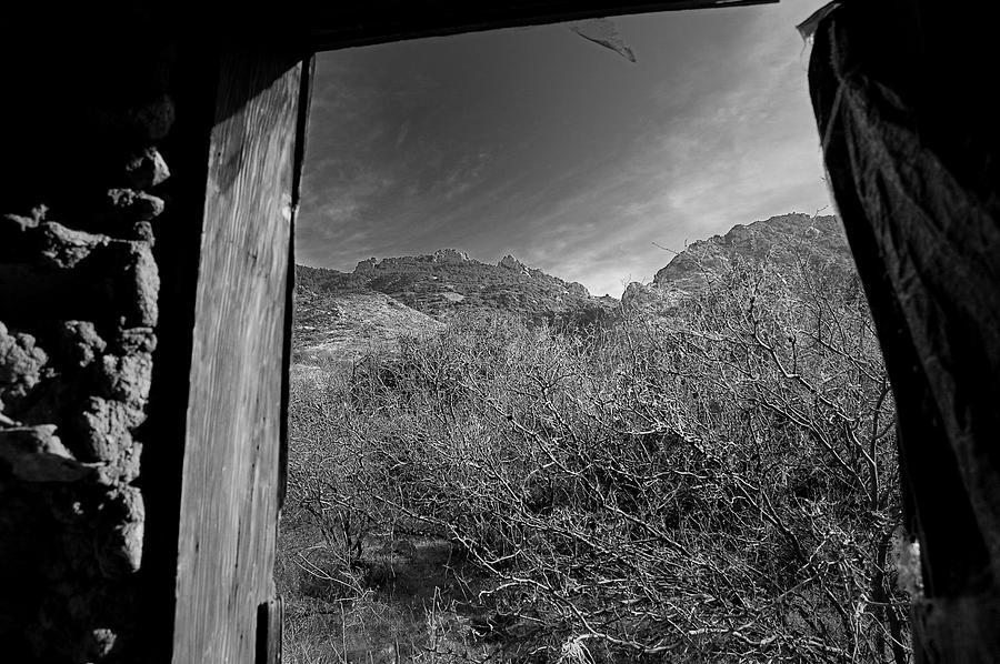 Arizona Desert Photography Photograph - Window by John Gee