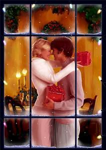 Couple Digital Art - Window by Miguel Herranz
