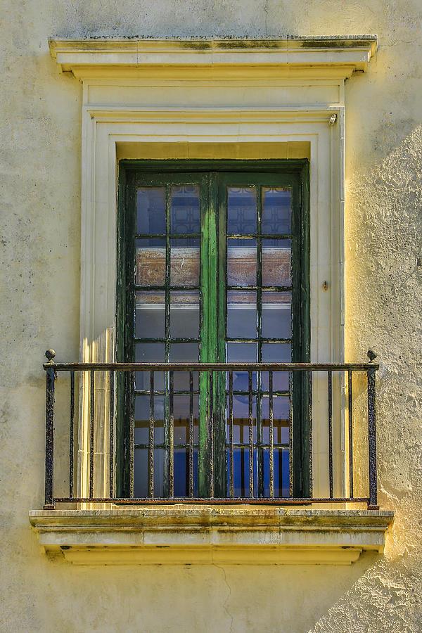 The Face Of God Photograph - Window Of Amelia by Paula Porterfield-Izzo