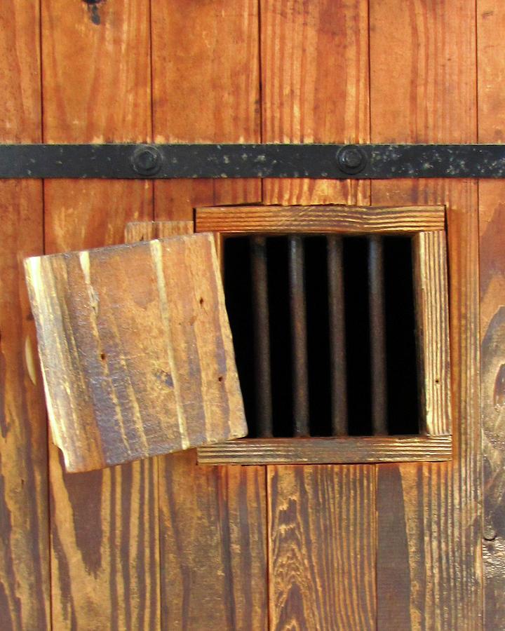Window Photograph - Window Of Darkness by Peg Urban