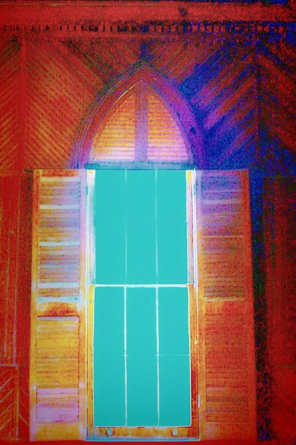 Gothic Photograph - Window Of My Heart by Jill Tennison