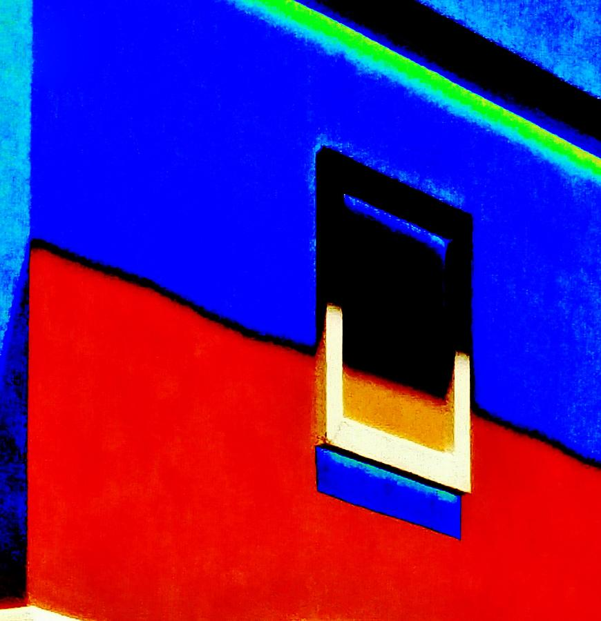 Bold Photograph - Window Of The Southwest  by Peggy Leyva Conley