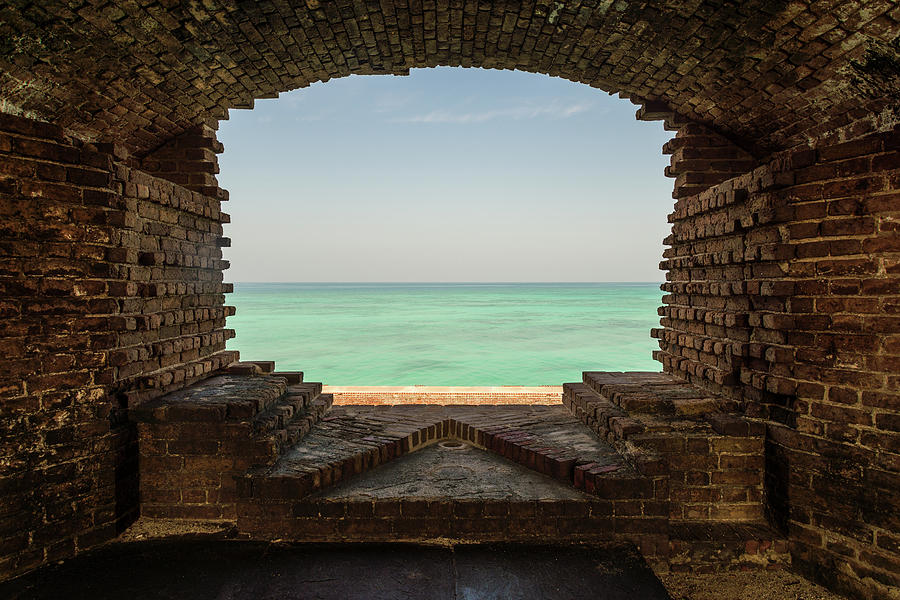 Window on the Gulf Photograph by Kristopher Schoenleber