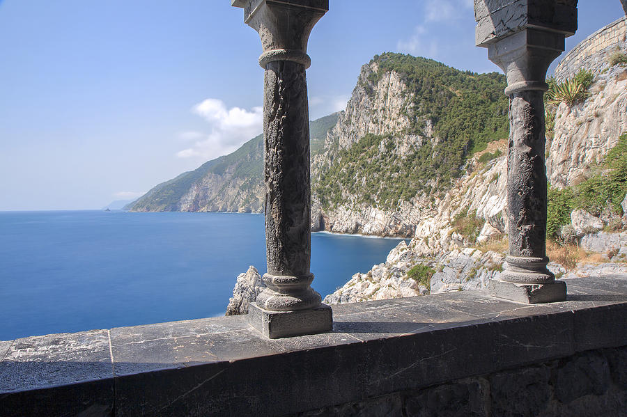 Italy Photograph - Window On The Sea At Portovenere by Rick Starbuck