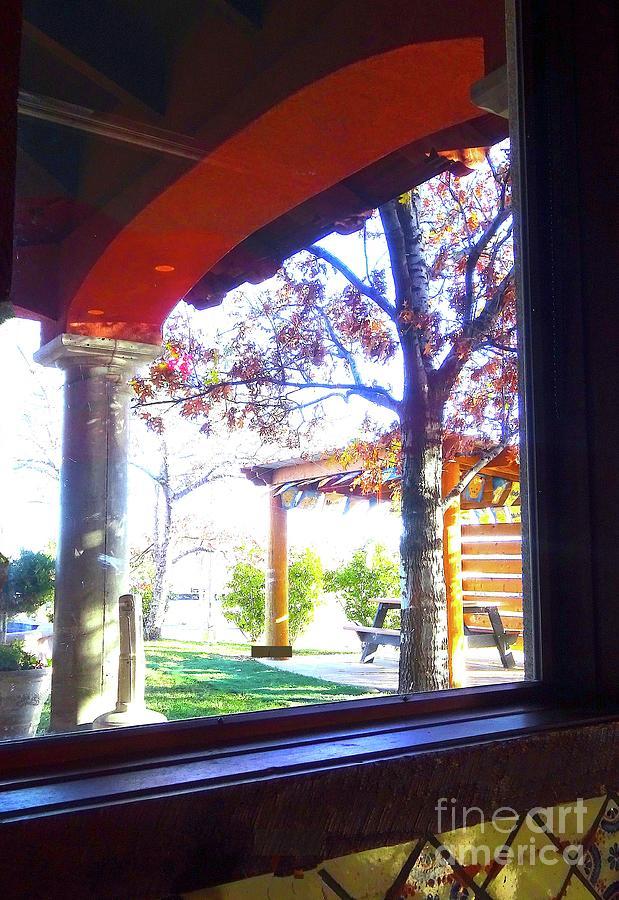 Window Digital Art - Window on the World by Karen Francis