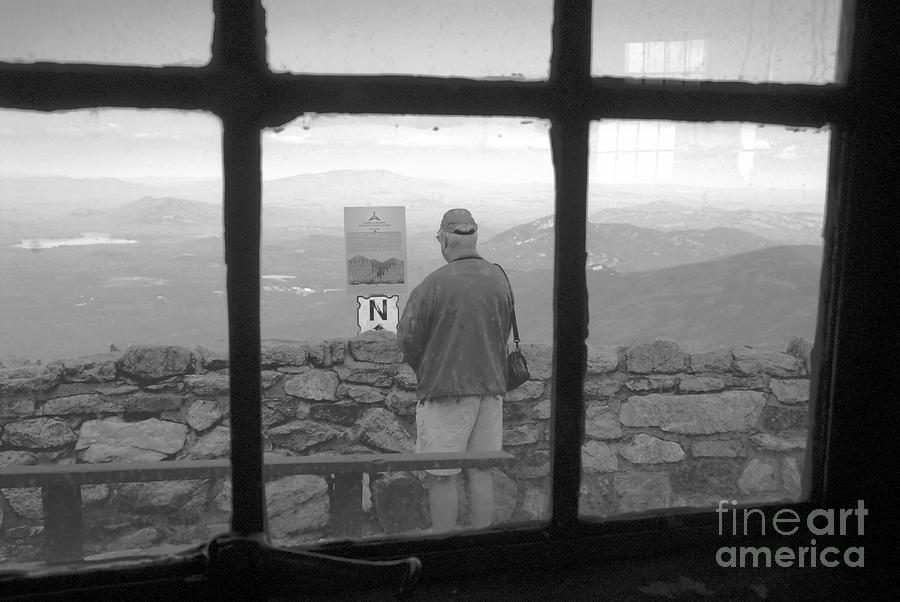 Windows Photograph - Window On White Mountain by David Lee Thompson
