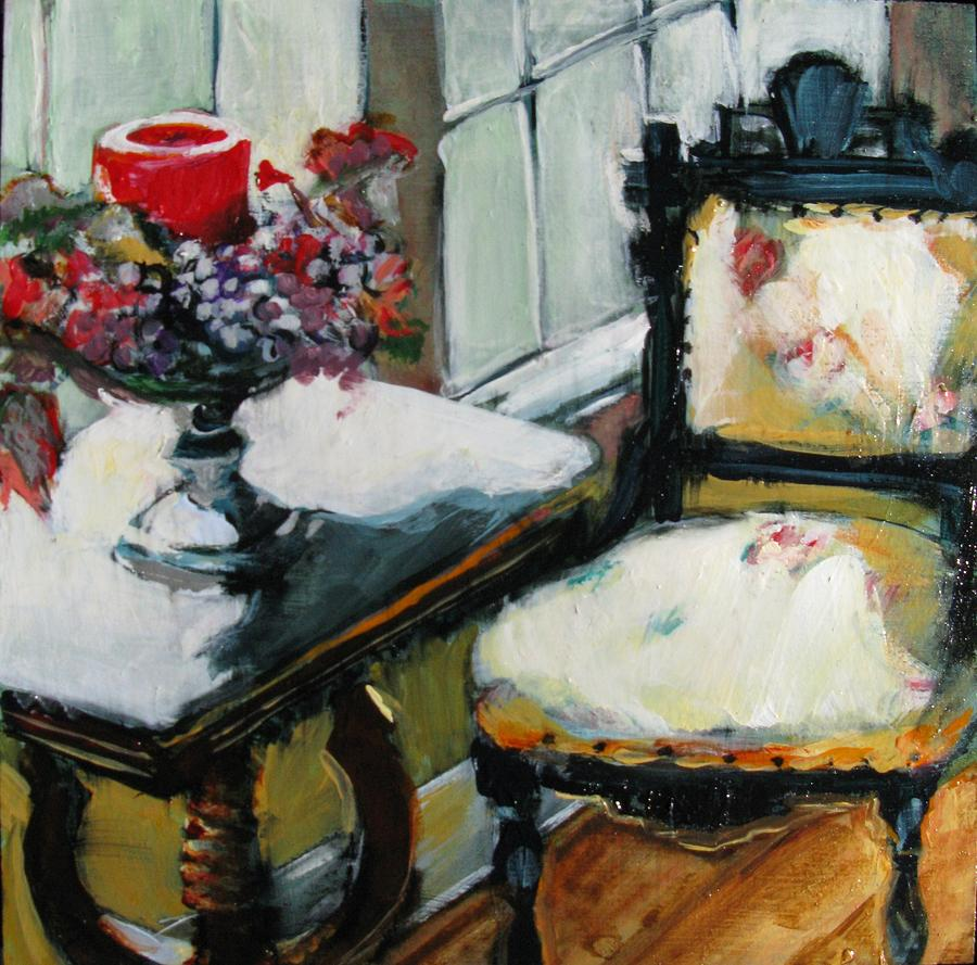 Interior Painting - Window Seat by Michelle Winnie