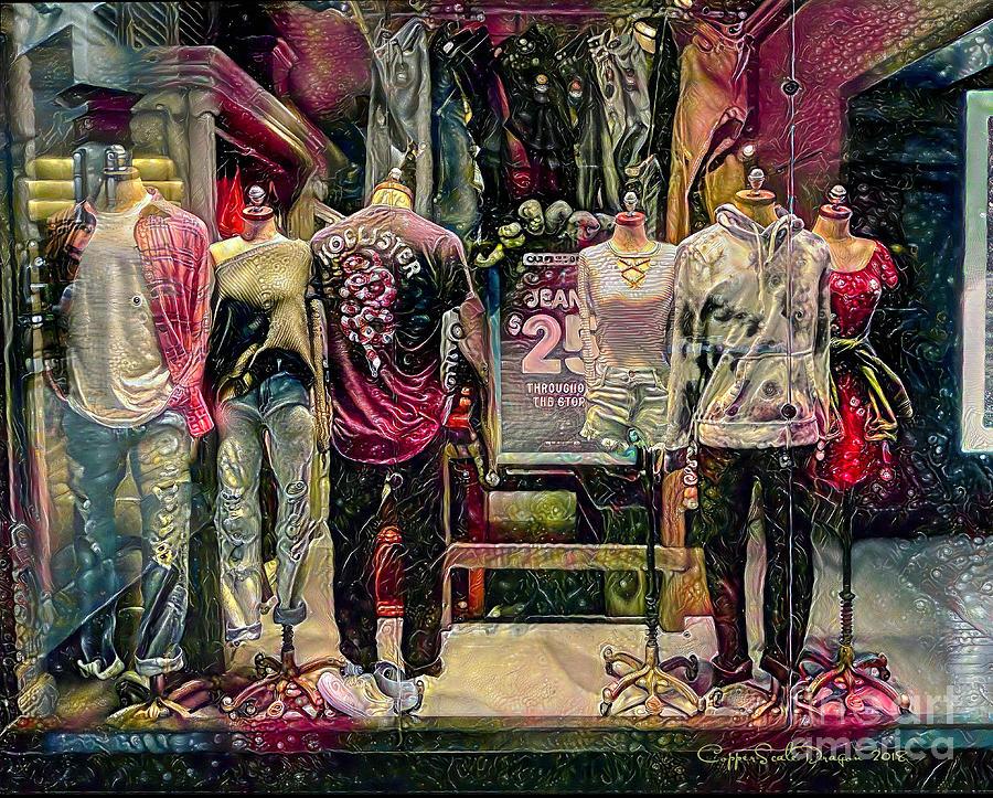 Window Shopping Photograph