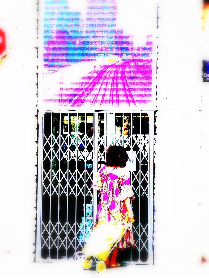 Window Photograph - Window Shopping Lyon Style by Funkpix Photo Hunter