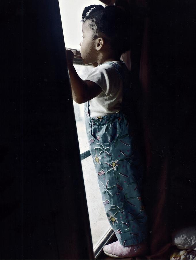 Children Photograph - Window Shopping by Robert Grubbs